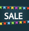 picture sale vector image vector image