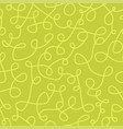 seamless curve pattern - hand drawn design vector image