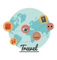 Travel design vector image vector image