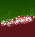 Christmas background template card vector image