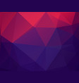 abstract geometric 2d color wallpaper vector image vector image