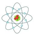 Atom icon cartoon style vector image vector image