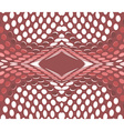 Fractal Geometric halftone vector image
