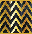 gold zigzag seamless texture vector image