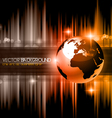 High Tech business background vector image