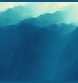 mountain landscape mountainous terrain abstract vector image