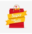 sale bag labels concept vector image vector image