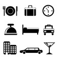 Travel service icon vector | Price: 1 Credit (USD $1)