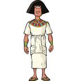 ancient egyptian nobleman vector image