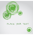 Abstract background with circle elements Text vector image