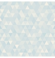Abstract geometric triangle background Neutral vector image