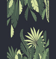 background of tropical leaves vector image