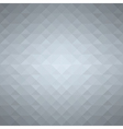 Grey geometric background vector image vector image