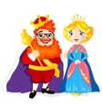 King and Queen vector image