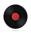 lp record icon gramophone music object vector image vector image