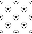 soccer ball icon in black style isolated on white vector image vector image