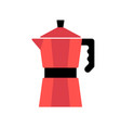 coffee maker color vector image vector image