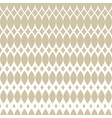 golden halftone seamless pattern with mesh grid vector image