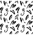 wavy and swirled brush strokes pattern vector image