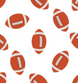 American football Seamless pattern vector image vector image