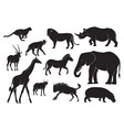 Animals of africa vector | Price: 1 Credit (USD $1)