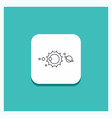 round button for solar system universe solar vector image