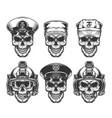 vintage military monochrome concept vector image