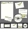 business template collection vector image