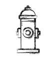 emergency water pipe vector image