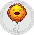 Leo Zodiac Sign vector image vector image