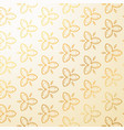luxury vintage floral decoration background vector image