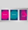 modern cover design background set a4 format vector image vector image