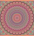 psychedelic mandala ornament background vector image vector image
