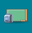 school objects design vector image