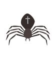 Spider Black Widow vector image vector image