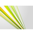 Abstract bright corporate stripes background vector image