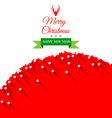 Abstract Christmas Greeting Card background vector image