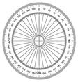 Actual Size Graduation vector image vector image