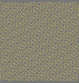 background with gold pattern on gray backgroud in vector image vector image