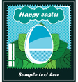 Easter postcard vector | Price: 1 Credit (USD $1)
