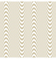 golden waves stripes curved wavy luxury pattern vector image