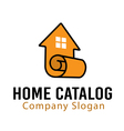 Home Catalog Design vector image vector image