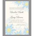 Invitation wedding card vector image vector image