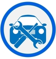 Auto repair shop sign vector image