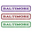 baltimore watermark stamp vector image vector image