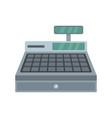 Cash machine icon flat style