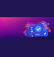 cloud robotics header banner vector image vector image