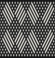 geometric seamless pattern with diagonal lines vector image
