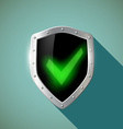 Green mark Stock vector image