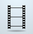 Icon of Film Frame Cinema Film vector image